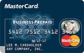 business prepaid mastercard